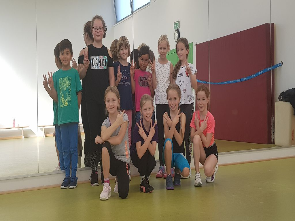 Dance4Kids in den Herbstferien